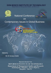 Book Cover: Contemporary Issues in Global Business - DonBosco Institute of Technology