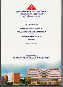 Book Cover: Ramachandra university