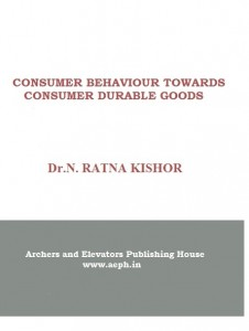 Book Cover: Consumer Behaviour towards Consumer Durable Goods