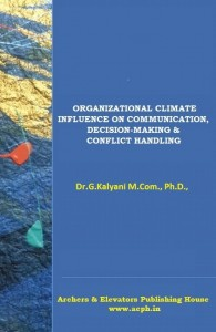 Book Cover: Organizational Climate - Influence on Communication, Decision-Making & Conflict Handling