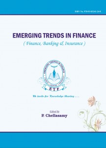 Book Cover: Emerging Trends in Finance