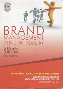 Book Cover: Brand Management in Indian Industry