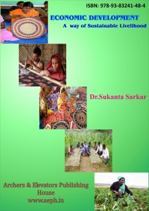 Book Cover: Economic Development - A Way of Sustainable Livelihood