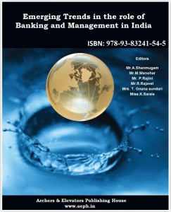 Book Cover: Emerging Trends in the role of Banking and Management in India