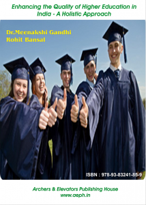Book Cover: Enhancing the Quality of Higher Education in India – A Holistic Approach