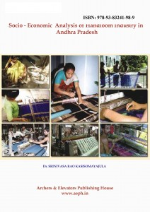 Book Cover: Socio - Economic Analysis of Handloom Industry in Andhra Pradesh