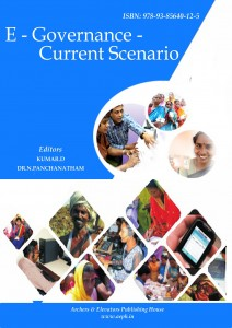 Book Cover: E-Governance - Current Scenario
