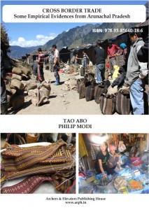 Book Cover: Cross Border Trade - Some Empirical Evidences from Arunachal Pradesh