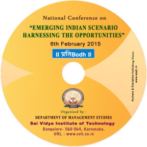 Book Cover: Emerging Indian Scenario Harnessing the Opportunities