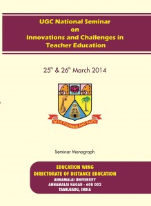 Book Cover: Innovations and Challenges in Teacher Education