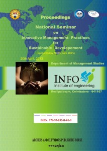 Book Cover: Innovative Management Practices for Sustainable Development (Info Institute of Engineering)
