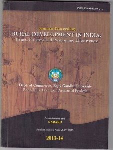 Book Cover: Rural Development in India