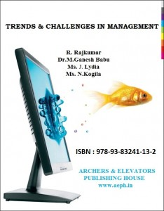 Book Cover: Trends and Challenges in Management