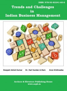 Book Cover: Trends and Challenges in Indian Business Management