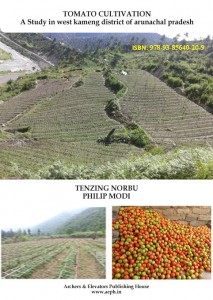 Book Cover: Tomato Cultivation - A Study in West Kameng District of Arunachal Pradesh