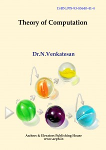 Book Cover: Theory of computation