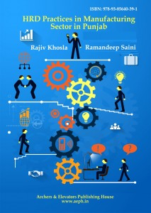 Book Cover: HRD Practices in Manufacturing sector in Punjab