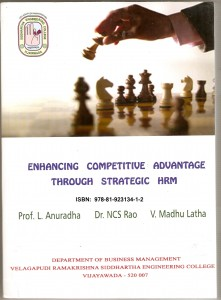 Book Cover: Enhancing Competitive Advantage through Strategic HRM