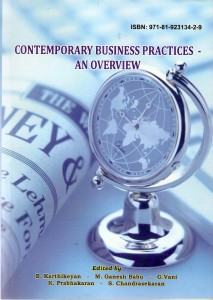 Book Cover: Contemporary Business Practices an overview