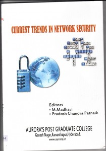 Book Cover: Current Trends in Network Securities