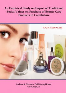 Book Cover: An Empirical study on Impact of Traditional Social Values on Purchase of Beauty Care Products in Coimbatore