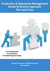 Book Cover: Production and Operations Management Goods & Service Approach: Text and Cases