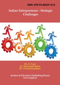 Book Cover: Indian Entrepreneurs Strategic Challenges